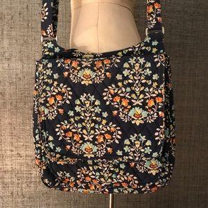 Vera Bradley blue crossbody bag